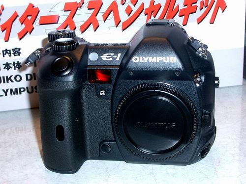 ×OLYMPUS E-1